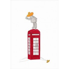I'm On the Phone - Giclee